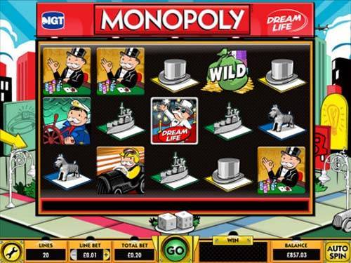 Monopoly Dream Life free slot