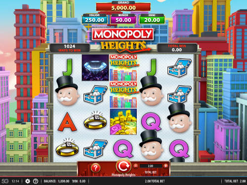 Monopoly Heights videoslot