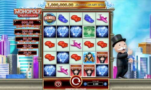 Monopoly Millionaire videoslot