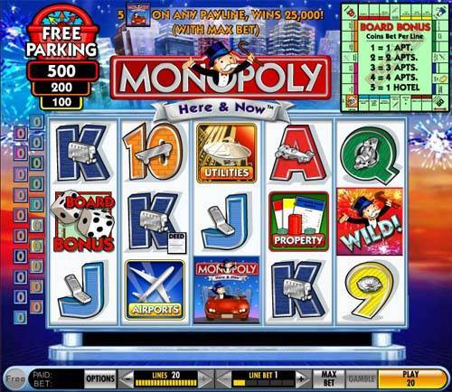 Monopoly Here and Now free slot