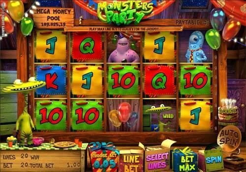 Monsters Party casino slot