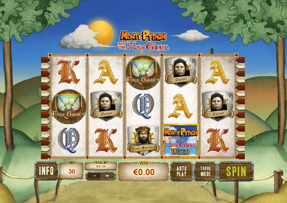 Monty Pythons Holy Grail slot