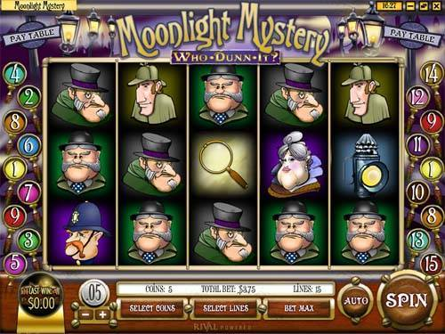 Moonlight Mystery videoslot
