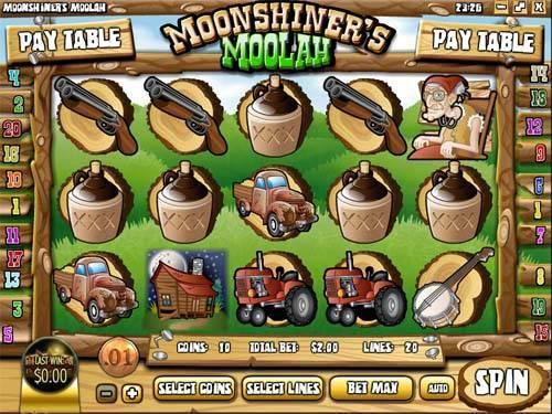 Moonshiners Moolah videoslot