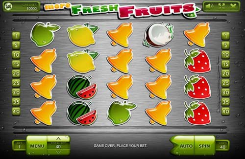More Fresh Fruits videoslot