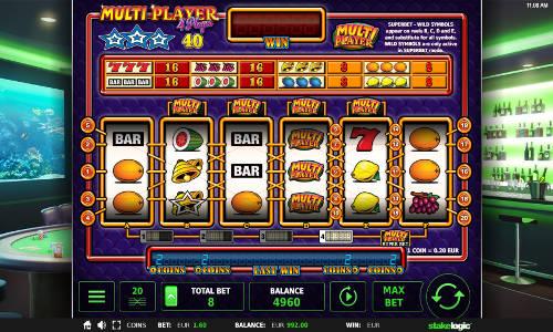 Multi Player 4 Player slot