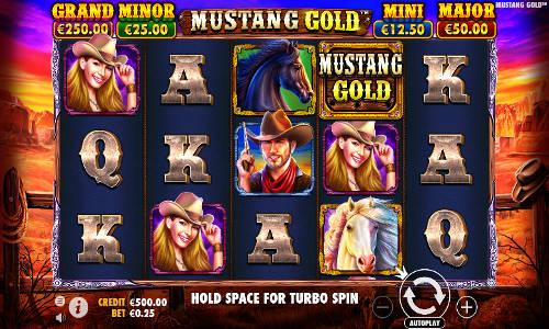 Mustang Gold videoslot