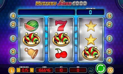 Mystery Joker 6000 videoslot