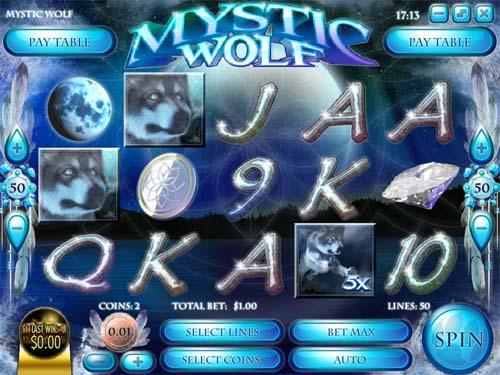 Mystic Wolf videoslot