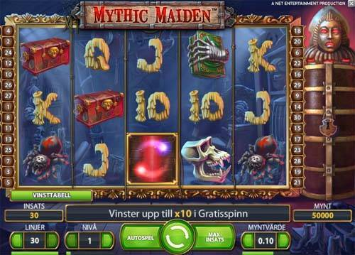 Mythic Maiden free slot