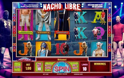 Nacho Libre videoslot