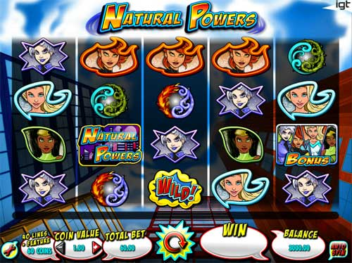 Natural Powers free slot
