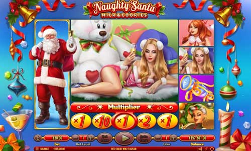 Naughty Santa videoslot