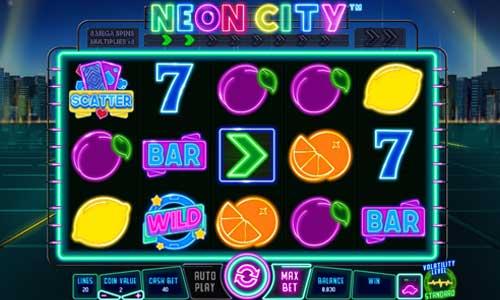 Neon City videoslot