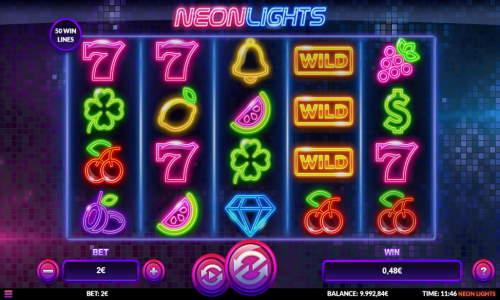 Neon Lights videoslot