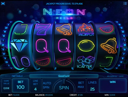 Neon Reels videoslot