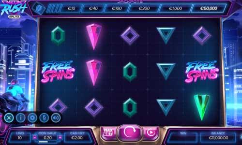 Neon Rush Splitz videoslot