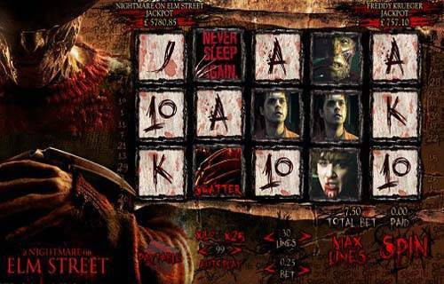 Nightmare on Elm Street slot