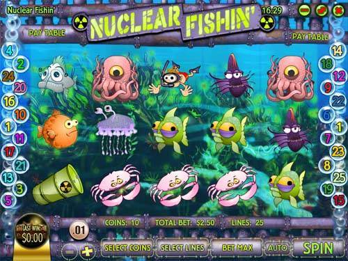 Nuclear Fishin slot