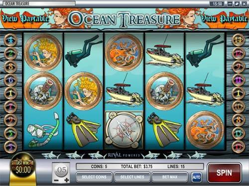 Ocean Treasure videoslot