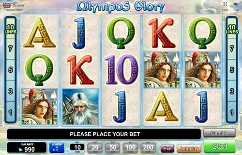 Olympus Glory videoslot