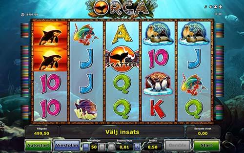 Orca free slot