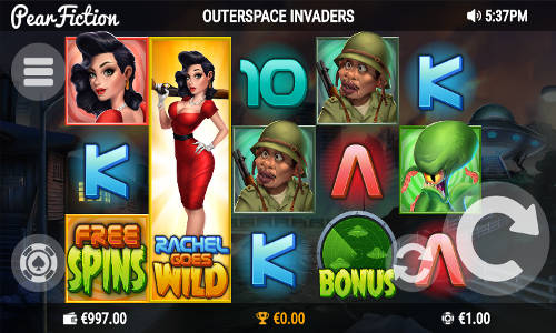 Outer Space Invaders slot