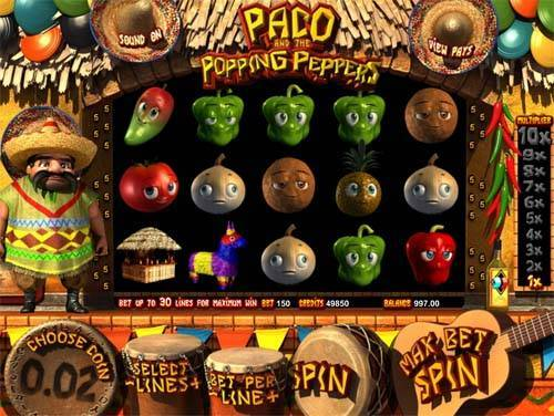 Popping Peppers slot