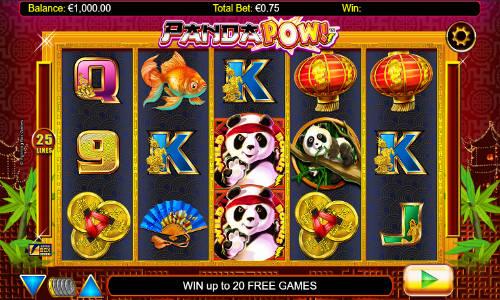 Panda Pow videoslot