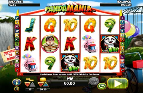 Pandamania slot