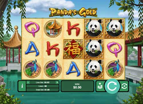 Pandas Golds videoslot