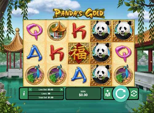 Pandas Golds slot