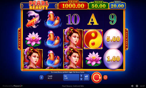 Pearl Beauty Hold and Win slot
