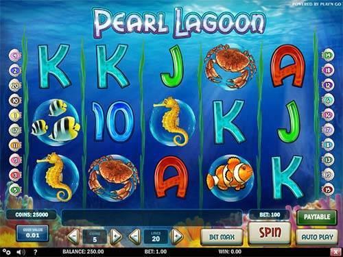 Pearl Lagoon videoslot