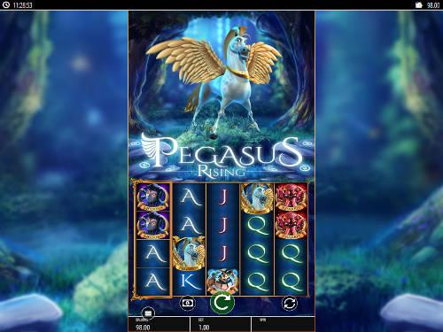 Pegasus Rising videoslot