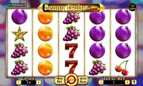 Penny Fruits Xtreme videoslot