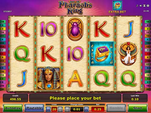 Pharaohs Ring slot