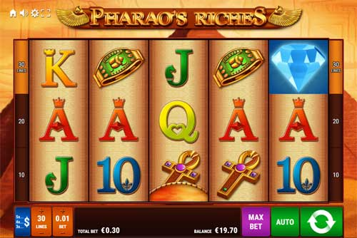 Pharaos Riches videoslot