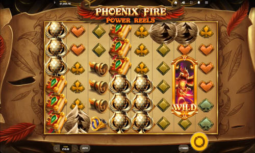 Phoenix Fire Power Reels videoslot