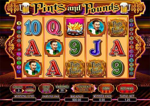 Pints and Pounds casino slot