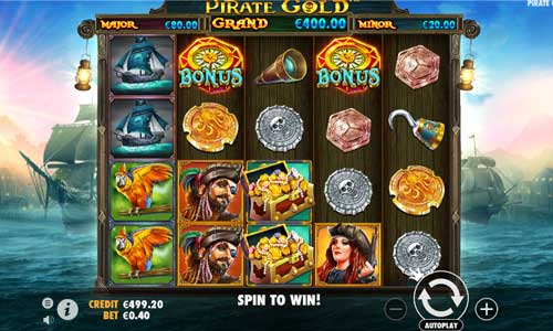 Pirate Gold videoslot