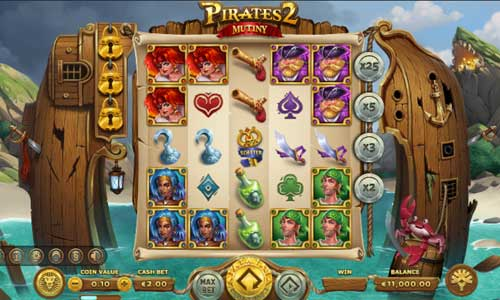 Pirates 2 Mutiny slot