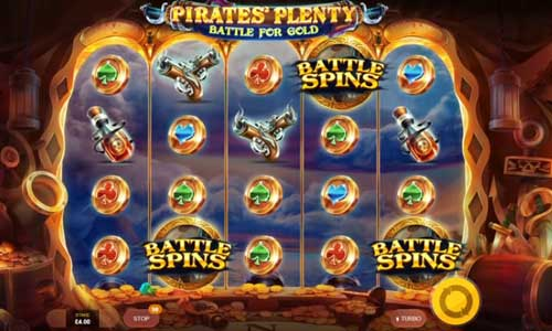 Pirates Plenty 2 Battle for Gold videoslot