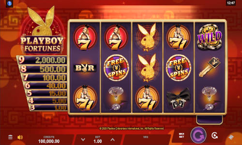 Playboy Fortunes videoslot