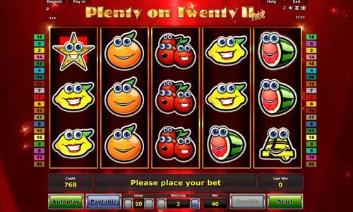 Plenty on Twenty II Hot slot