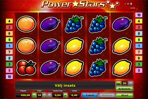 Power Stars free slot