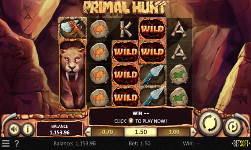 Primal Hunt videoslot