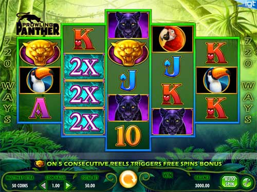 Prowling Panther free slot