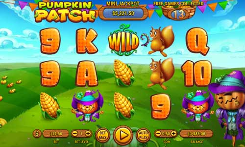 Pumpkin Patch videoslot