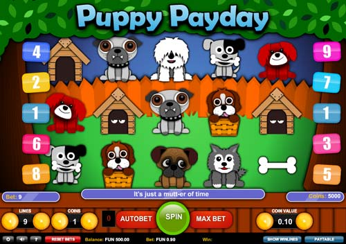 Puppy Payday slot